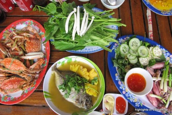 Küche in Vietnam