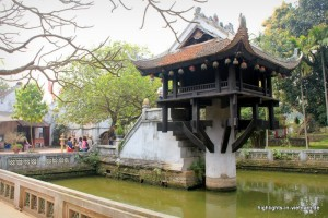 Einsäulenpagode in Hanoi