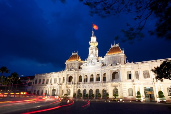 Hotel de Ville in HCMC