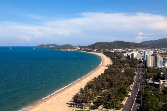 Nha Trangs Strand