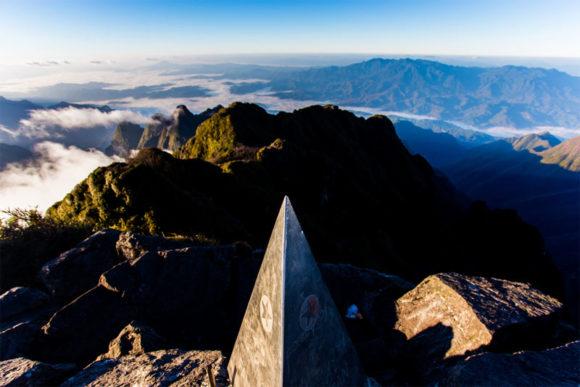 Gipfel des Fansipan