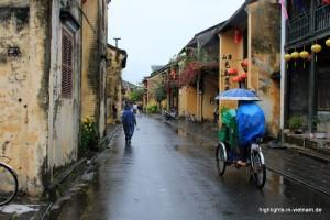 Regen in VIetnam