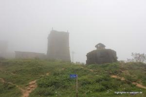 Bunker auf dem Wolkenpass